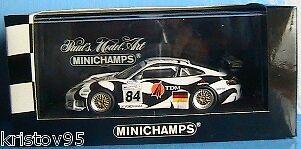 PORSCHE 911 GT3 RS #84 24H MANS 2004 BURGESS COLIN 1/43 MINICHAMPS 400046984
