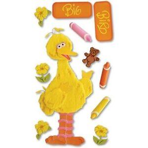 SESAME STREET Stickers JOLEES BOUTIQUE BIG BIRD CUTE!