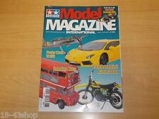 Catalogue Tamiya Magazine Janvier/Février 2013 n°121