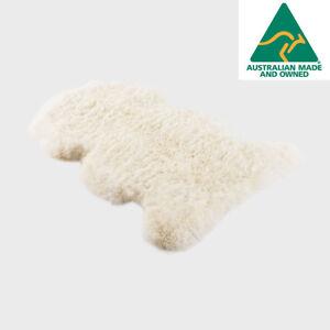 Details About Ugg Australia Long Merino Sheepskin Rug Natural Colour Jumbo Size Rrp 164