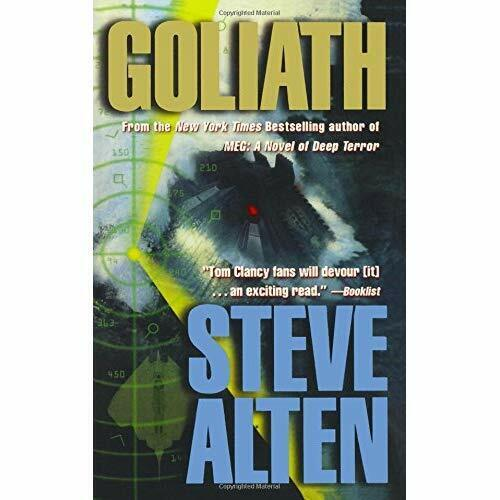 Goliath - Paperback NEW Steve Alten (Au 4 Sept. 2016