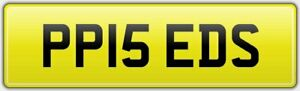 P-HEADS-BEST-FUNNY-LEGAL-CAR-REG-NUMBER-PLATE-PP15-EDS-GTR-SCOOBY-OFF-BAD