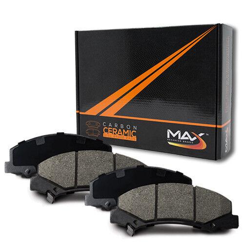 00 Volvo V70 w//11/'/' Front Rotor Dia Max Performance Ceramic Brake Pads F