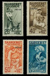 Saar Region 1927 Mi. No. 122-25