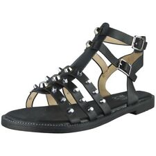 d33327498ce item 4 Womens Studded Gladiator Sandals Ladies Strappy Buckle Flats Low  Heel Shoes Size -Womens Studded Gladiator Sandals Ladies Strappy Buckle  Flats Low ...