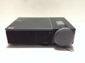 DELL 1409X LCD PROJECTOR USED NO LAMP INCLUDED UNTESTED NO POWER ON   REF:1452