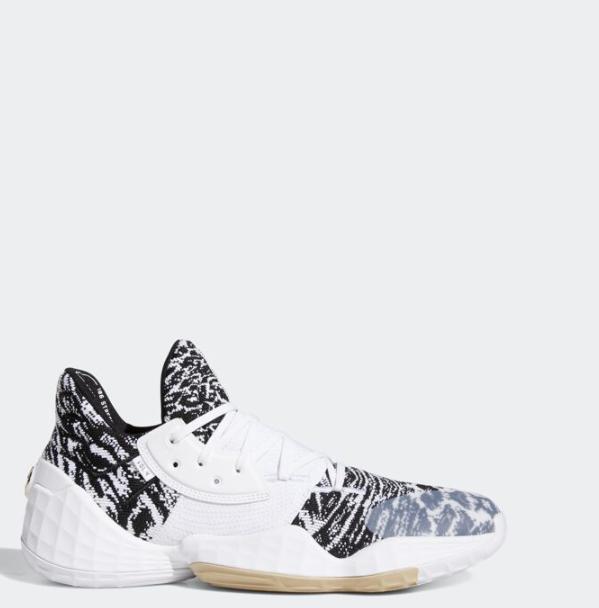 Vol. Harden James Basketball Adidas 4 EF1260 4 12 Sz Weiß