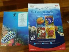 Marine Creatures autographed Malaysia Thailand 2015 empty folder Free Poster