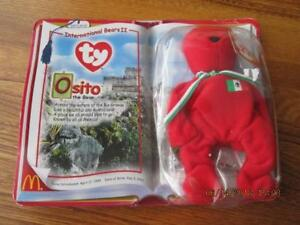 OSITO-the-Bear-TY-Beanie-Baby-International-Bears-II-2000-New-in-Pkg-Retired