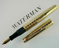 WATERMAN Gold Ciselé - 1930ca Introvabile Fountainpen,  Very Old pen!!