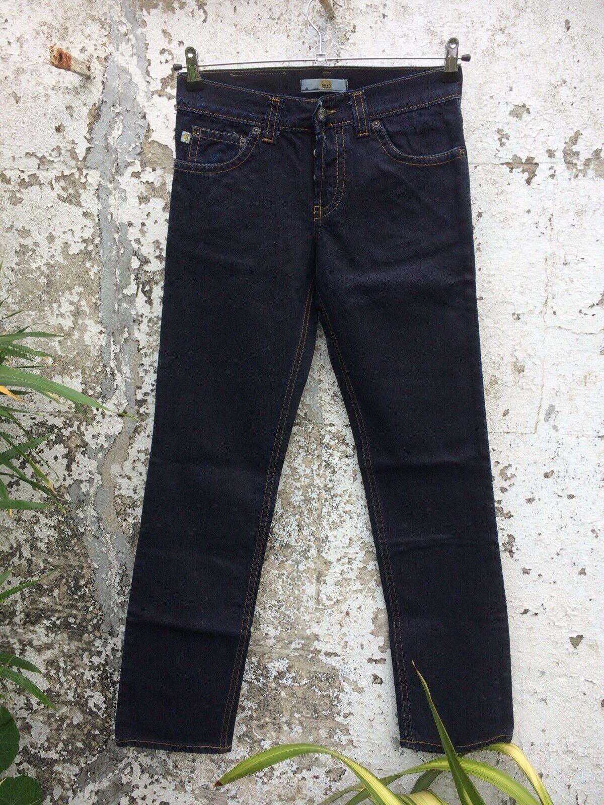 Road Jeans Wax Denim Slim Pant Size 32 Reg