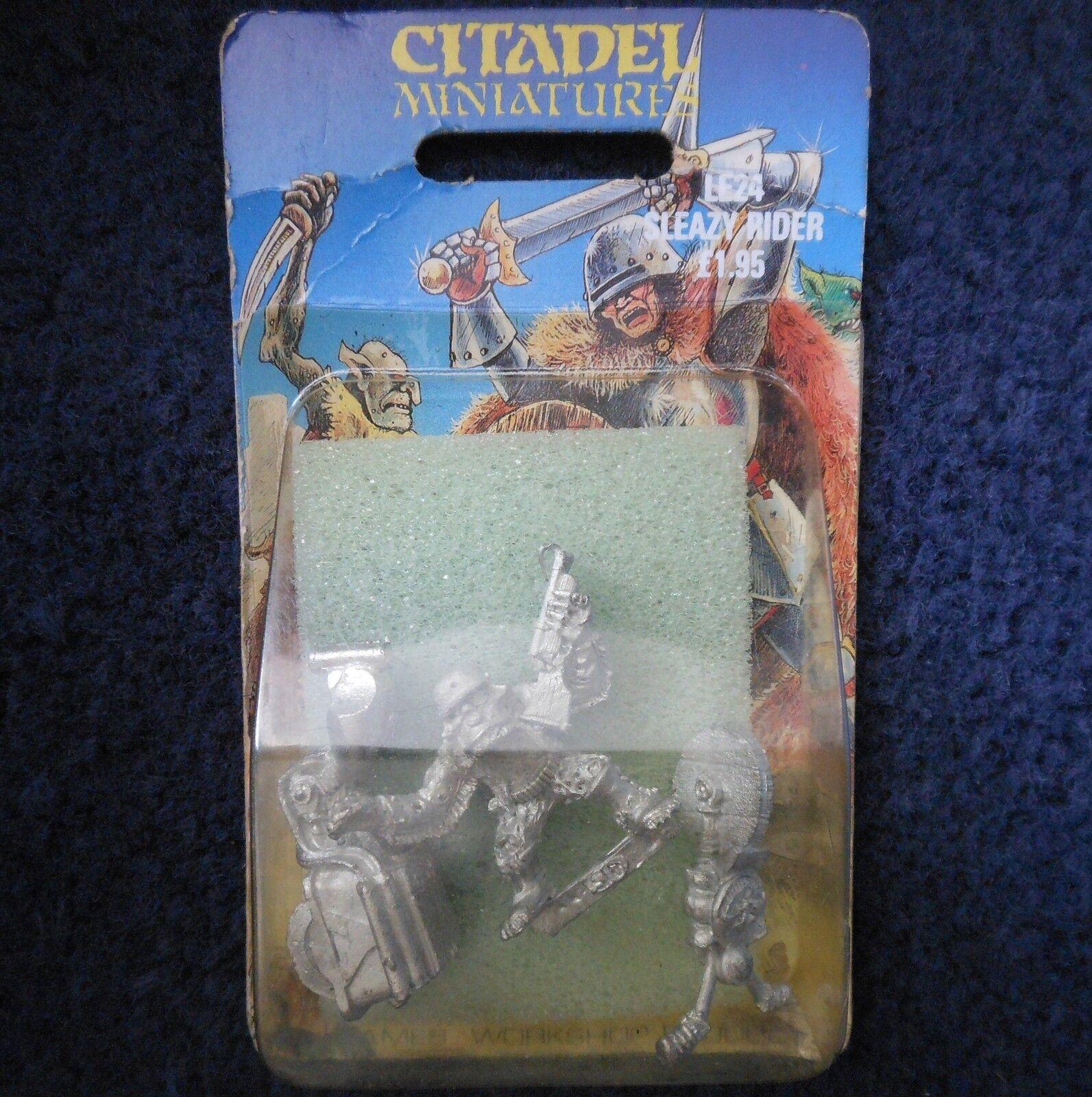 1987 LE24 sleazy rider limited edition citadel warhammer rogue trader 40K mib gw