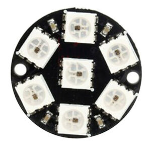 1-3PCS-CJMCU-WS2812-5050-7-Pixel-RGB-LED-Ring-Works-with-NeoPixel-Library-RCB