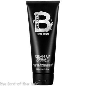 2-X-TIGI-BED-HEAD-FOR-MEN-CLEAN-UP-PEPPERMINT-CONDITIONER-200ml