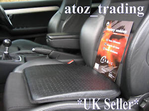 Premium-Quality-Leather-Look-Seat-Cushion-For-Home-Car-Office-BNIP-UK-SELLER