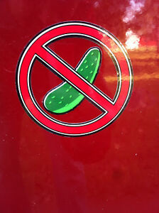 No-Pickle-Stickers-Motorcycle-Decal-Helmet-General-Statement-PULE-Snowboard