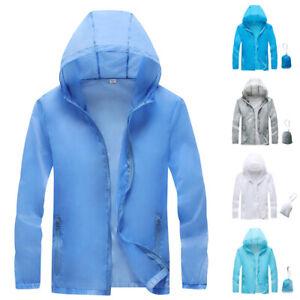 Mens-Womens-Casual-Long-Sleeve-Hooded-Coat-Quick-Dry-Waterproof-Outdoor-Jacket