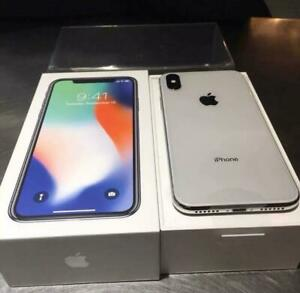 USED Apple iPhone X 64GB Silver - Factory Unlocked, Complete