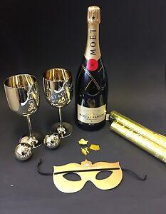 Moet-Chandon-034-Party-Set-034-Champagner-1-5l-Magnum-Flasche-12-Vol-Konfetti-Kanone