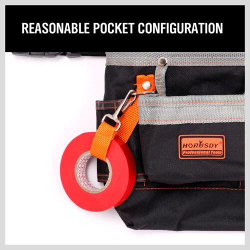 8 poches fente Pochette Outil Ceinture Sac Utilitaire électricien d/'entretien Carpenter