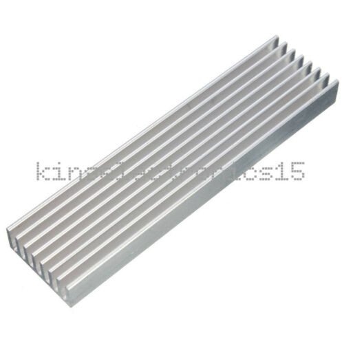 1PCS Aluminum Heat Sink Cooling LED Power IC Transistor 100x25x10mm For Computer