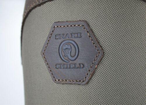 Magellan Outdoors Boots Waterproof Leather Landman Snake Hunting Bite Shield