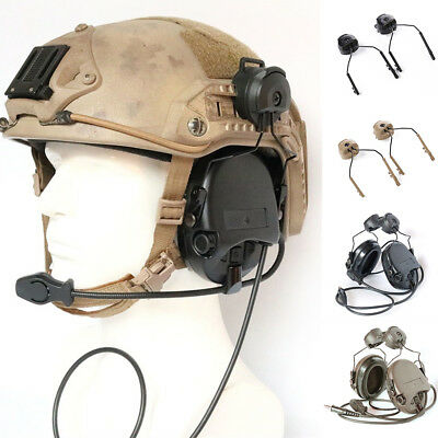 Helmet ARC Rail Adapter for Peltor Comtac Sordin Howard Leight Walker grgrt