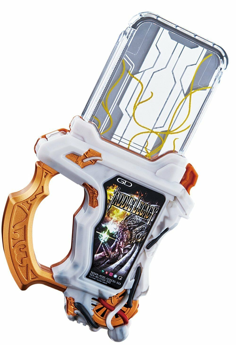 Kamen Rider Ex-Aid Brave DX Taddle Legacy Gashat Bandai Japan