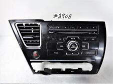2013 HONDA CIVIC LX SDN W/O NAV AM-FM-CD-MP3 ASSM ID 2XC3 P/N 39100-TR3-A314-M1