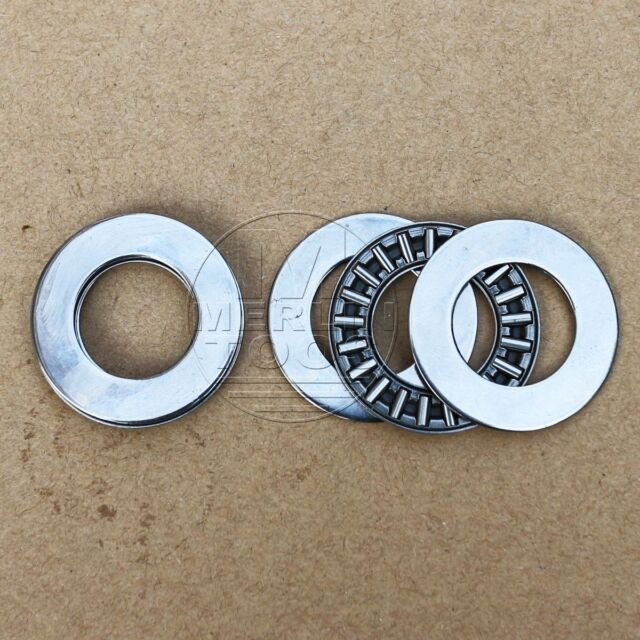 17x 30x 2 mm with 4 Washers 2 pcs AXK1730 Thrust Needle Bearing