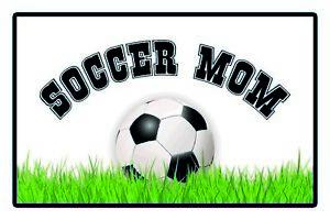Football-Mom-Panneau-Metallique-Plaque-Voute-Etain-Signer-20-X-30-cm-CC0981