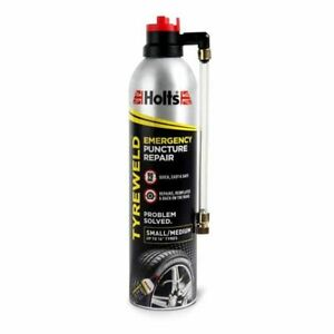 Holts Tyreweld 400ml Seals & Inflates Punctures Tyres Instantly Puncture Repair