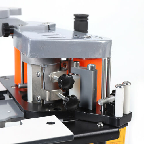 110V Portable Woodworking Edge Banding Machine Double Side Gluing Edgebander Set