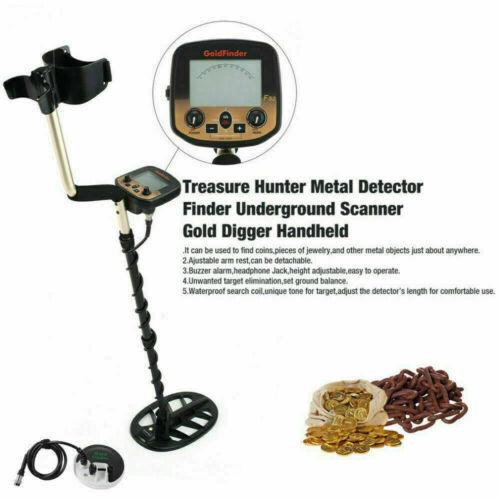Waterproof Metal Detector Deep Sensitive Search Coil Coin Gold Treasure Hunting