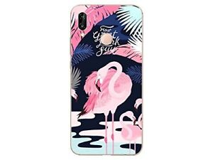 coque huawei p20 lite flamand rose