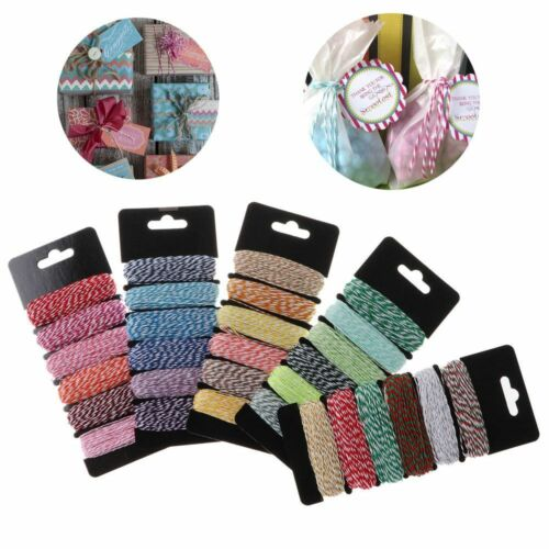 4Ply DIY Sewing Cords Double Color Cotton Baker Twine Cutting Dies Decoration