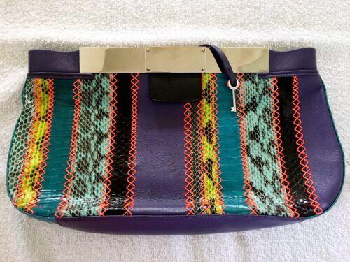gebruikt Choo patchwork Originele Jimmy clutchnooit LRjqc354A