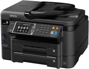 Epson WorkForce WF-3640 Wireless Color All-in-One Inkjet Printer Scanner Copier