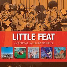 Little Feat ORIGINAL ALBUM SERIES Box Set SAILIN' SHOES Dixie Chicken NEW 5 CD