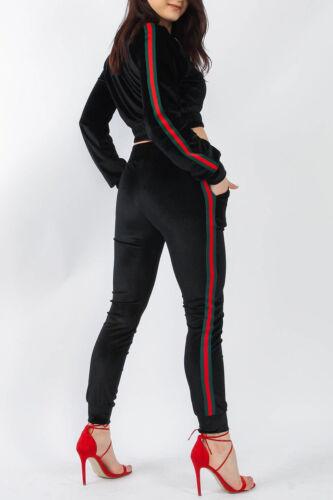 tutta sicurezza da jogging veloce in Consegna righe e Giacca tuta Consegna velluto a in vq4R4H