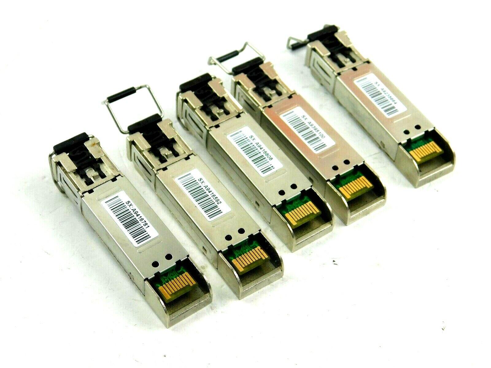 SX-GBIC-FC-1GIG-E-UL 1000BASE-SX 1.25GBd 5 Piece