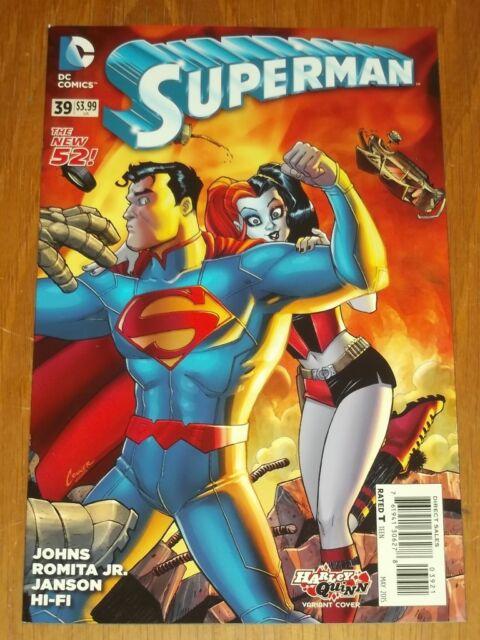 SUPERMAN #39 VARIANT DC COMICS THE NEW 52 NM (9.4)