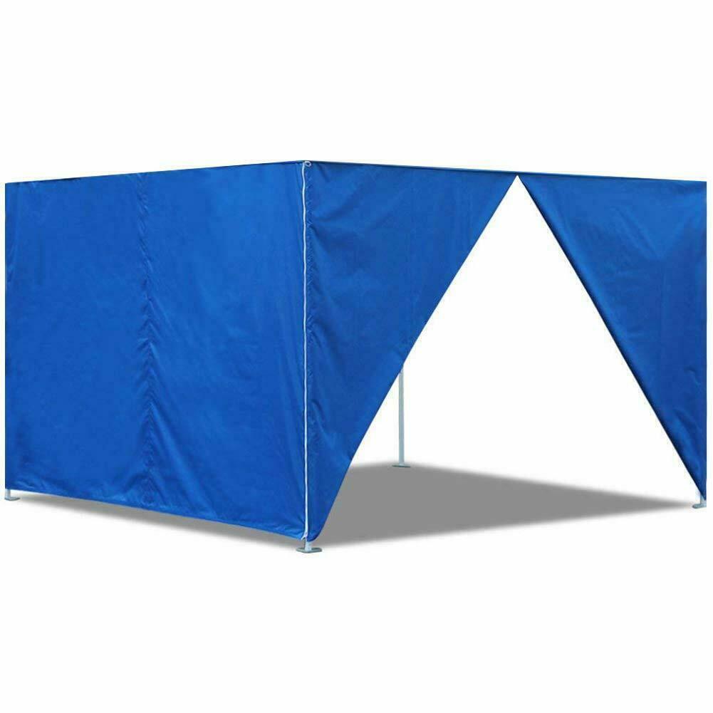 2pcs 10Ft Side Zipper Walls End Panels For EZ Pop Up Canopy Fair Trade Show Tent