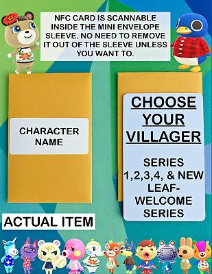Choose Any Villager You Want Animal Crossing New Horizons Amiibo