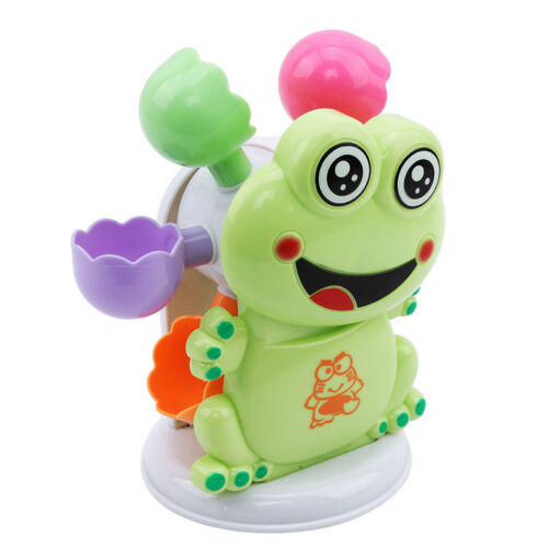 Frog Bubble Machine Kids Baby Bath Tub Toy Automatic Shower Blower Maker Toys LS