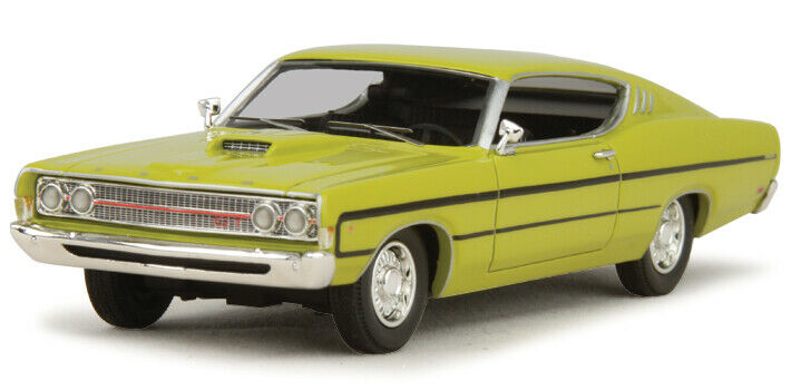 1969 Ford Torino GT SportRoof - Gelb