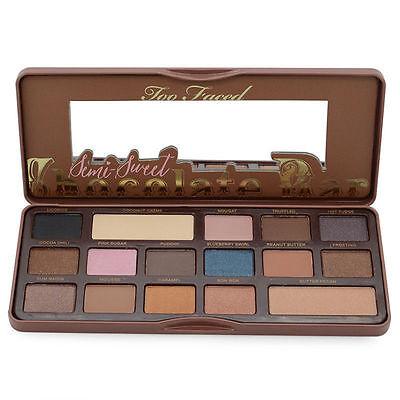 Too Faced Eyeshadow Eye Shadow Palette Chocolate Bar Makeup Kit Set Make Up UK
