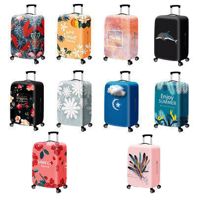 Travel Luggage Cover Naughty Cat Suitcase Protector Fits 18-20 Inch Washable Baggage Covers