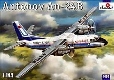 1:144 Amodel #1464 Soviet passenger aircraft An-24B  Neuheit !!!