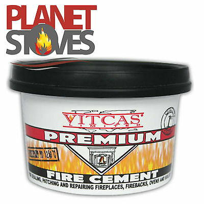 Fire Cement for Flue Pipe Seals  on Wood Burning Stoves - 500g